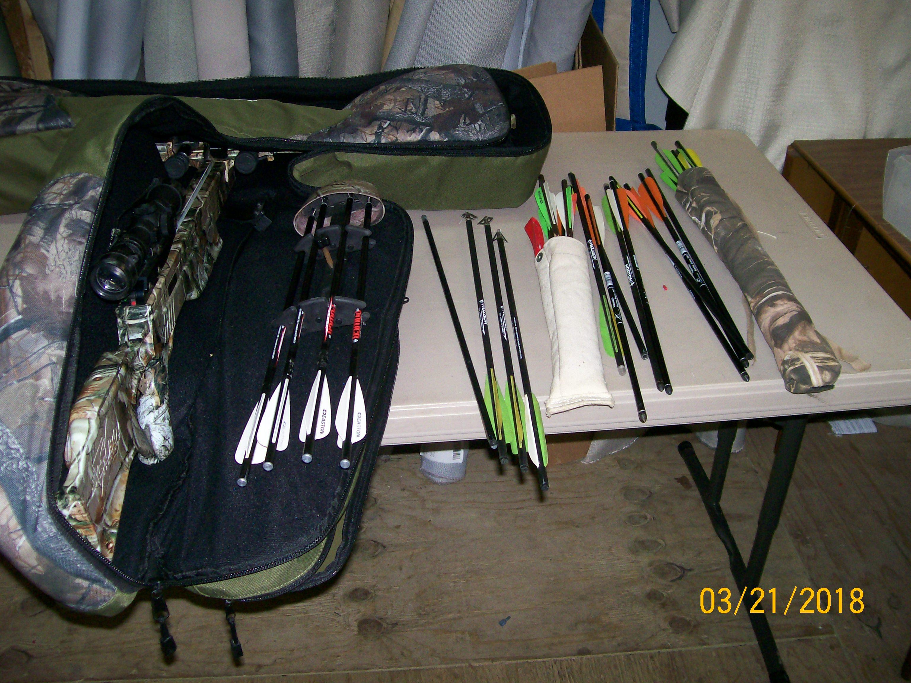 Cross bow Package