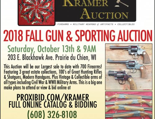 2018 Fall Gun & Sporting Auction