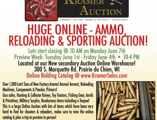 Huge Online – Ammo & Sporting Auction